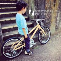 2020モデル RITEWAY 『 SHEPHERD CITY KIDS 20 』 20インチ ライトウェイ シェファード パスチャー シェファードシティ クロスバイク おしゃれ自転車 キッズバイク - サイクルショップ『リピト・イシュタール』 スタッフのあれこれそれ