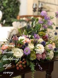 〜週末の婚礼から〜♪ -  Flower and cafe 花空間 ivory (アイボリー)