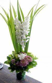 枕花。北郷2条にお届け。2019/07/20。 - 札幌 花屋 meLL flowers