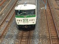 南浦和駅の歩道橋から見る185系&651系などなど。 - 子どもと暮らしと鉄道と