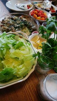 久々のエスニック料理の会@わたしんち - Baking Daily@TM5