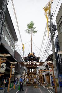 2019祇園祭後祭・山鉾建て其の二 - デジタルな鍛冶屋の写真歩記