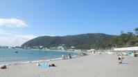 2013年9月1日一色海岸へ。自転車の鍵を無くし、途方にくれる - さとられず
