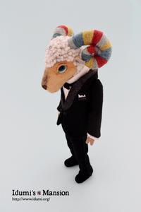 ひつじ タキシード * sheep 01 - … いづみのつぶやき