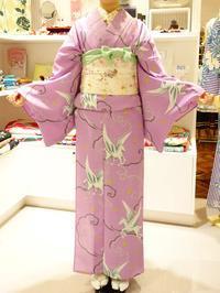 レンタル浴衣「ペガサス」着用のお客様 - 豆千代モダン 新宿店 Blog