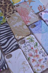 ◆デコパージュ*歴代のiPhoneケース達♪ - フランス雑貨とデコパージュ&ギフトラッピング教室 『meli-melo鎌倉』