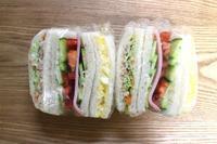 サンドイッチのお弁当と懐かしの味 - オヤコベントウ