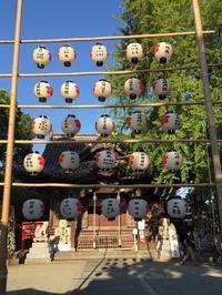 【提灯奉納・天神さん子どもまつり】 - ブログ版 八女福島町並み通信