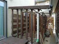 ガレージ横薪小屋の屋根高さ延長 - まさやんのお気楽DIY生活