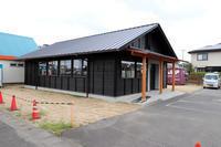 黒の切妻/完成近し/飲食店舗設計/倉敷 - 建築事務所は日々考える