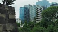 ビル群と江戸城石垣 - 風の香に誘われて 風景のふぉと缶