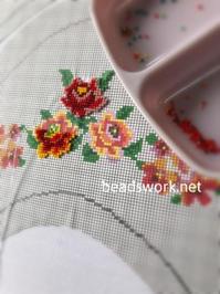 プラナカンビーズ刺繍 シューズ刺繍 - プラナカンビーズ刺繍  ビーズワークと旅