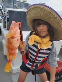 可愛い釣りガールファミリーフイッシング一日目 - 五島列島 遊漁船 MANA 釣果情報 ヒラマサ
