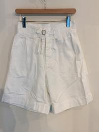 ITALIAN WHITE GURKHA SHORTS 80S NEAR MINT CONDITION - Safari ブログ