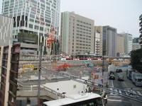 渋谷南口が、すっかり更地!だと思ったら工事始まっていた - アイギス不動産