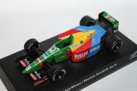 1/64 Kyosho SUZUKA LEGEND 4 1989 Benetton Ford F1 B189 - 1/87 SCHUCO & 1/64 KYOSHO ミニカーコレクション byまさーる