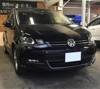 VWシャランに後席モニター[フリップダウンモニター]取付 - 静岡県静岡市カーオーディオ専門店のブログ