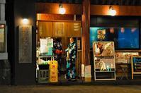 夏の夜の記憶色:神楽坂 - Photocards with love