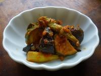 アスパラ、茄子、ズッキーニのトマトソース炒め - LEAFLabo