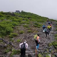只今、富士山七合目 - そらたび