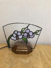 蘭のミニパネル - Glass in