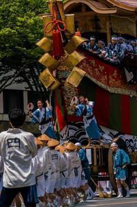 祇園祭・後祭~山鉾巡行(南観音山~大船鉾) - 鏡花水月