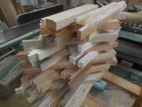 ミニ花びんの木取り - 手作り家具工房の記録