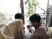 長男との勉強バトルと次男の心配事 - ordinary days