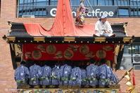 祇園祭前祭へ - 「古都」大津 湖国から