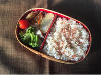 鶏肉とブロッコリーのオイマヨ炒め - 庶民のショボい弁当