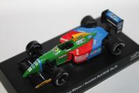 1/64 Kyosho SUZUKA LEGEND 4 1990 Benetton Ford F1 B190 - 1/87 SCHUCO & 1/64 KYOSHO ミニカーコレクション byまさーる