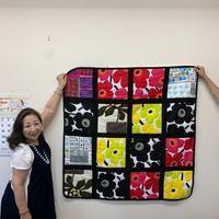 7月教室  3 - 「にゃん」の針しごと