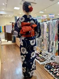 天神祭へのお手伝いさせて頂いた皆さまのコーデ写真 - 着物Old&Newたんす屋泉北店ブログ