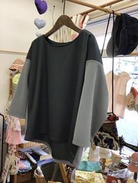 ツートンカラーのチュニック - warmheart*洋服のサイズ直し・リフォーム*