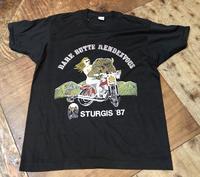 7月26日(土)入荷!デッドストック80s STURGIS '87 ハーレーバイクイベントTシャツ! - ショウザンビル mecca BLOG!!
