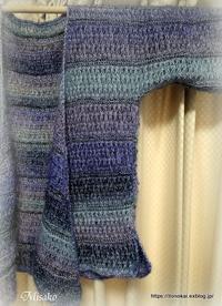 アフガン編みのカシュクールその3 - ルーマニアン・マクラメに魅せられて