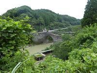 熊本美里山都1霊台橋石橋のアーチは心を揺り動かす - ひもろぎ逍遥