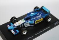 1/64 Kyosho SUZUKA LEGEND 4 1995 Benetton Renault F1 B195 - 1/87 SCHUCO & 1/64 KYOSHO ミニカーコレクション byまさーる