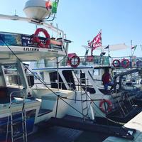 2019夏ランペドゥーザ島でバカンス vol.6 船で出動!美しすぎるランペドゥーザ島の海に酔いしれる♩ - 幸せなシチリアの食卓、時々旅