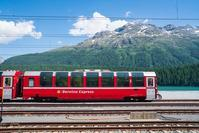 スイスのサンモリッツ駅 - エーデルワイスPhoto