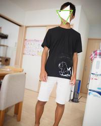 メンズTシャツ(長男) - こものてしごと aicy works