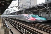 並びの宮 - 新幹線の写真
