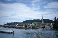 スイスで夏休み その1:シュテイン・アム・ライン - 雲フェチ