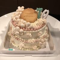古希のお祝いのケーキ - 福岡のフランス菓子教室  ガトー・ド・ミナコ  2