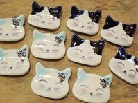 新着~ぶどう工房さんの箸置き&一輪挿し~ - 湘南藤沢 猫ものの店と小さなギャラリー  山猫屋