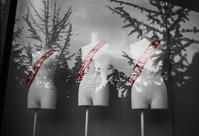 梅雨空に向かってアピールするトルソー - Film&Gasoline