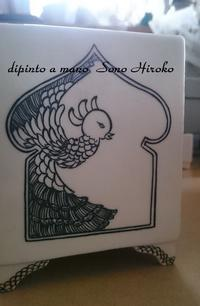 もう一つの課題☆ - Italian styleの磁器絵付け