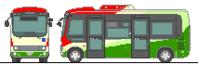 関西電鉄バスの日野・ポンチョ - 妄想れいる・・・私の妄想交通機関たち