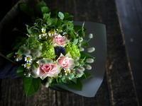 奥様のお誕生日に花束。「可愛い感じ、夏っぽい感じ」。2019/07/27。 - 札幌 花屋 meLL flowers