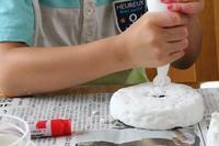 ケーキ型貯金箱 - 大阪府池田市 幼児造形教室「はるいろクレヨンのブログ」
